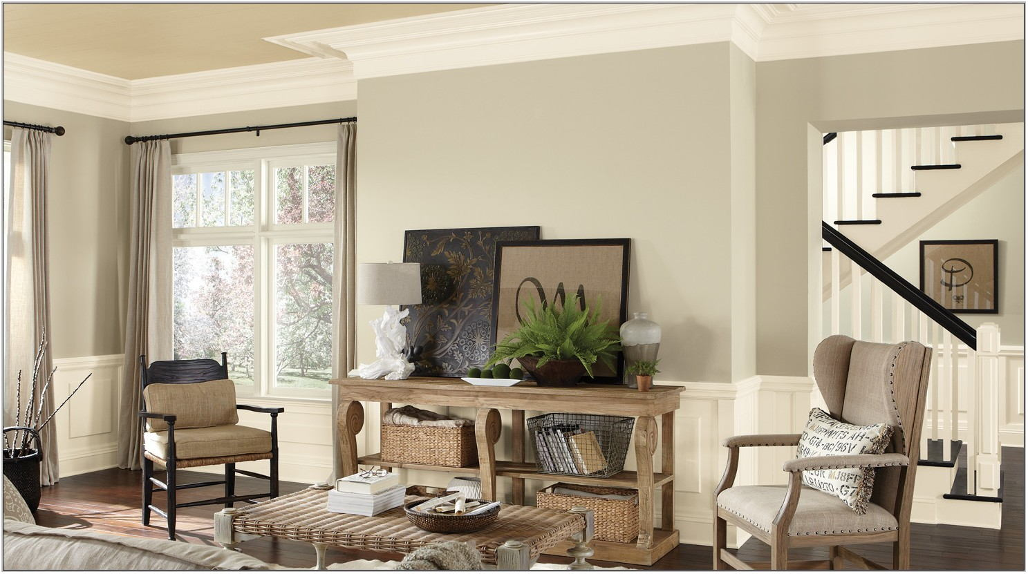Pictures Of Living Room Paint Colors