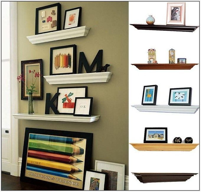 Pinterest Floating Shelves Living Room