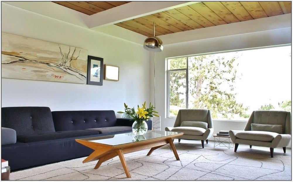 Pinterest Mid Century Modern Living Room
