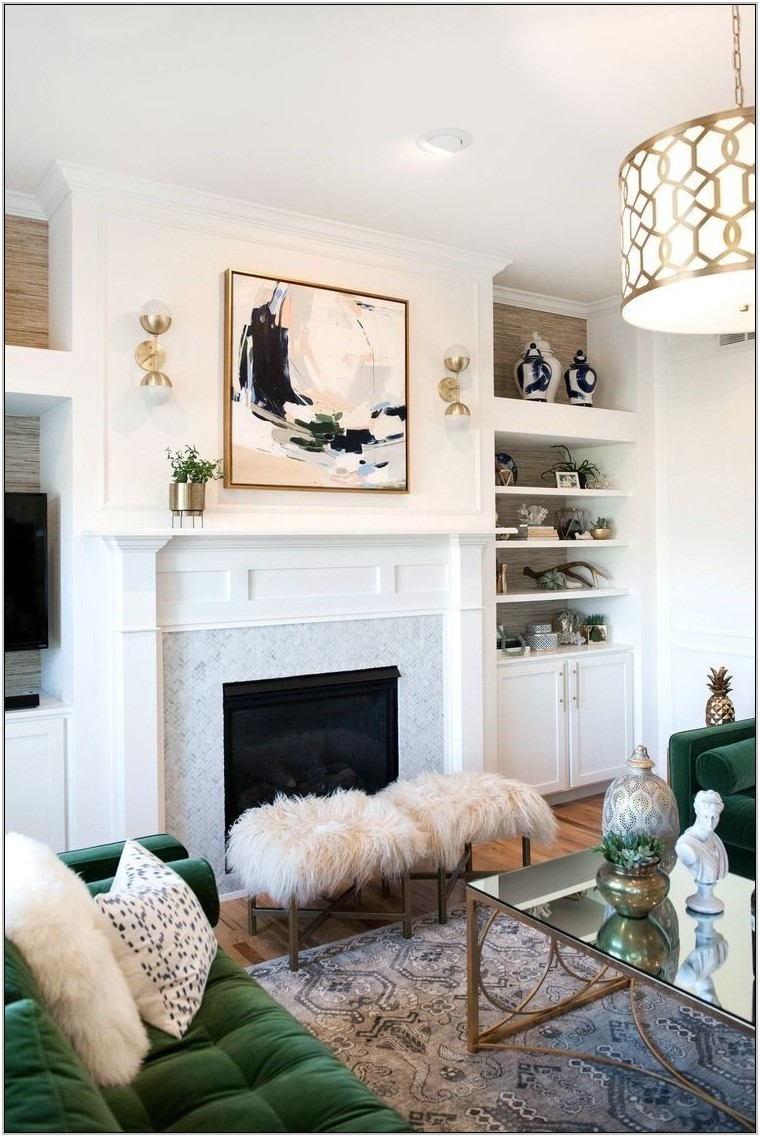 Pop Of Color Living Room
