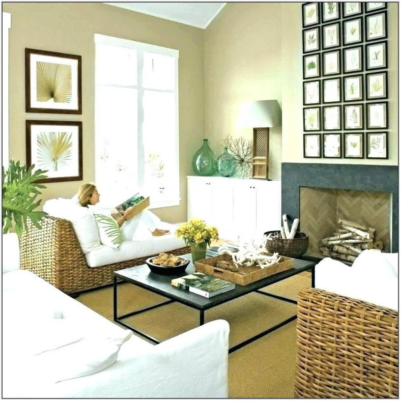 Pottery Barn Coastal Living Room