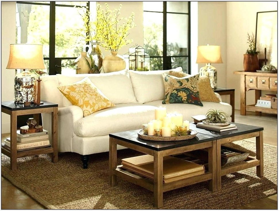 Pottery Barn Living Room Tables