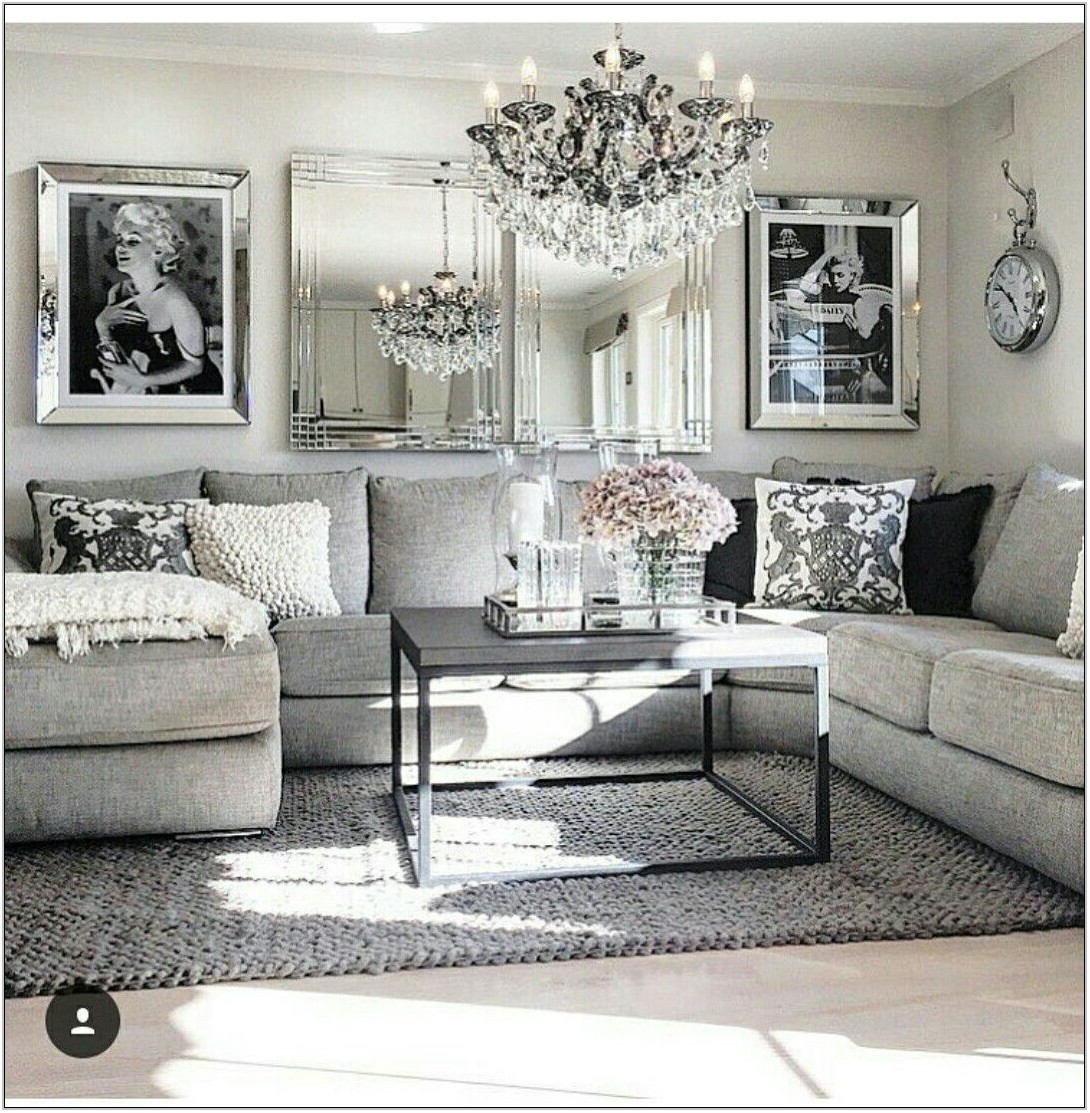 Pretty Living Room Decor