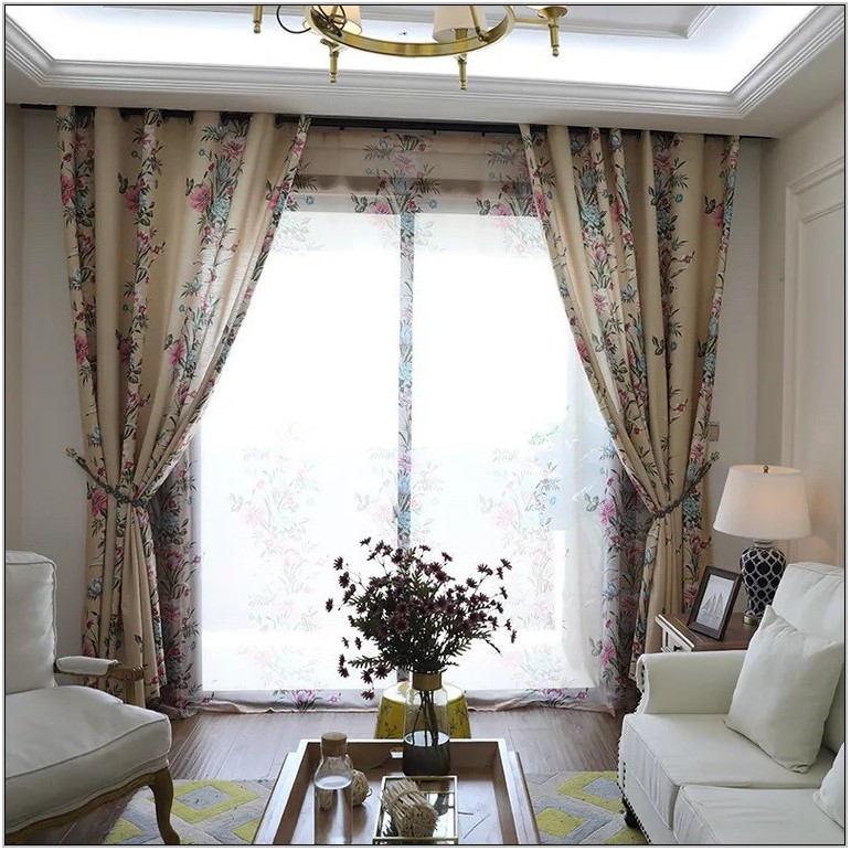 Printed Curtains For Living Room