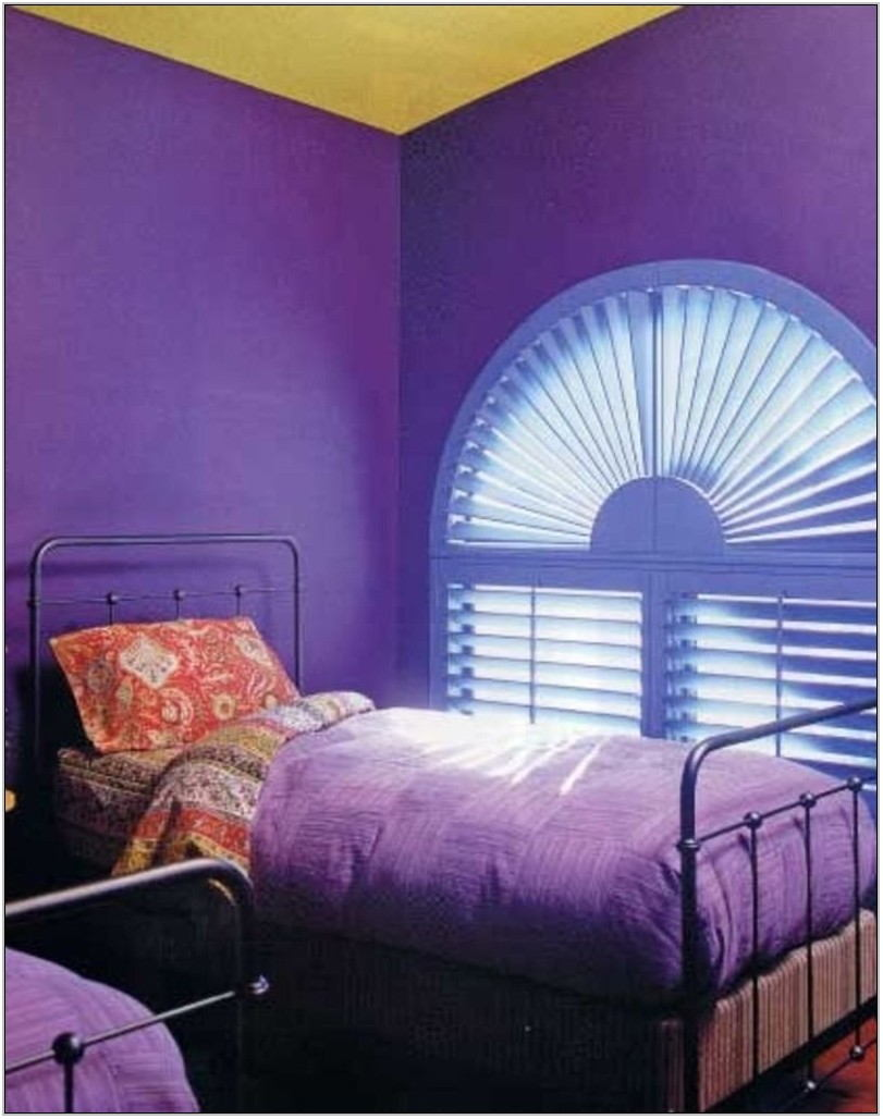 Purple Paint Colors For Living Room
