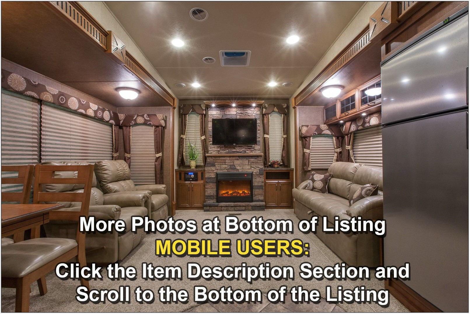 Raised Rear Living Room 5th Wheel