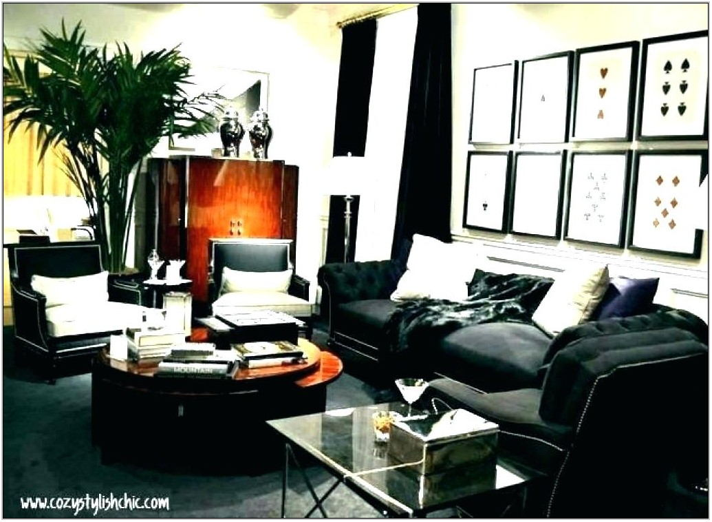 Ralph Lauren Living Room Decor