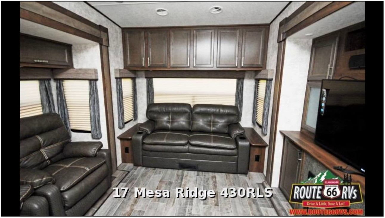 Rear Living Room Fifth Wheel