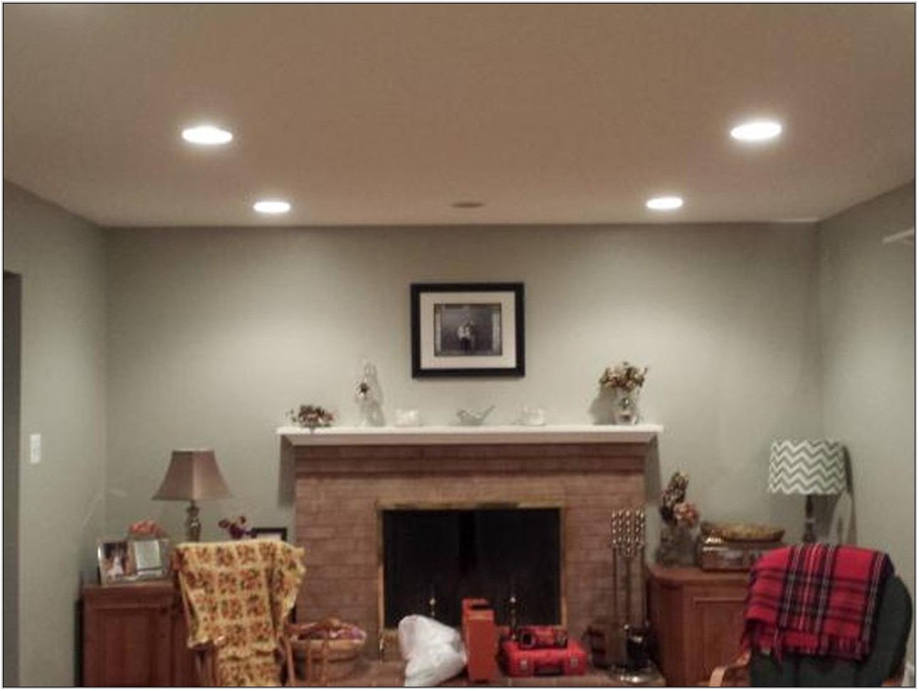 Recessed Lighting Placement Living Room