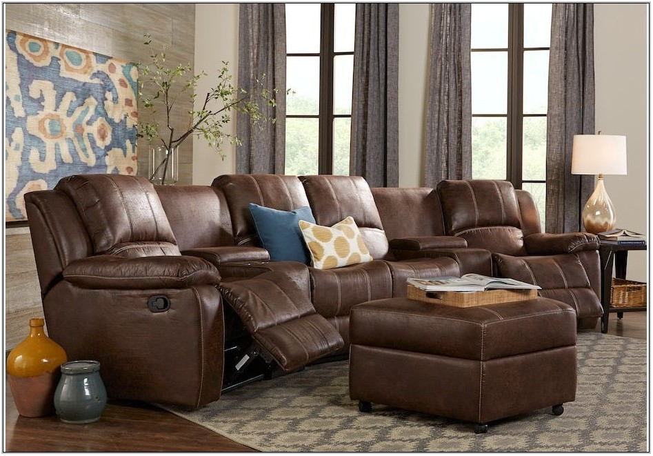 Reclining Sectional Living Room Sets