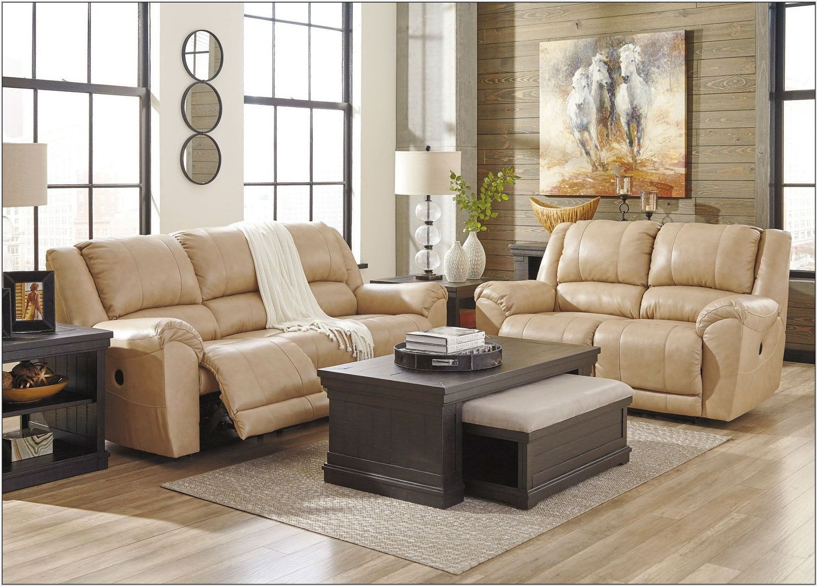 Reclining Sofa Living Room Set