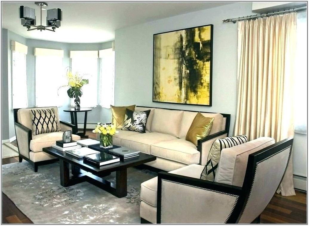 Rectangle Living Room Design