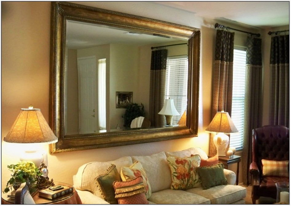 Rectangle Wall Mirror Living Room