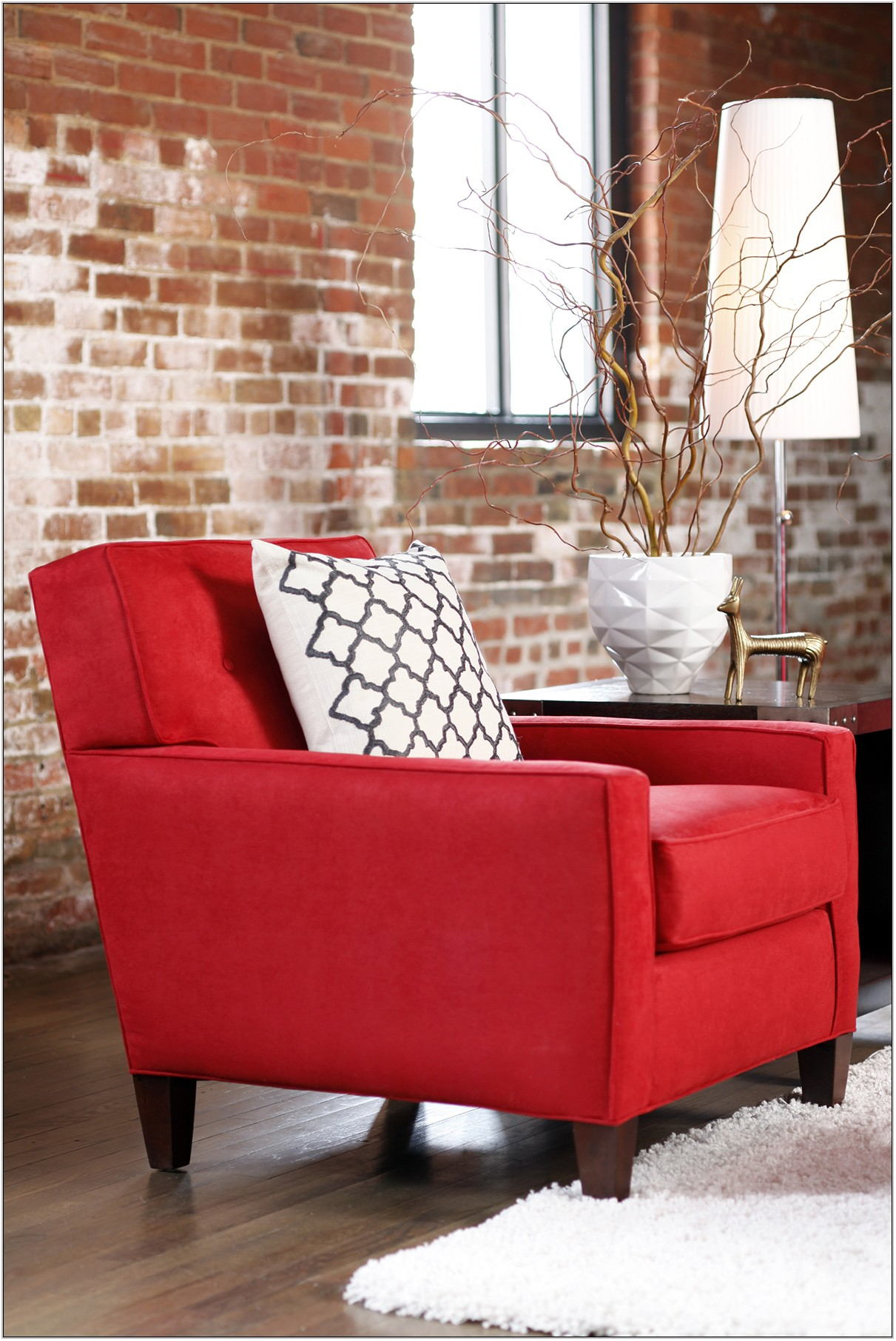 Red Accent Pieces For Living Room