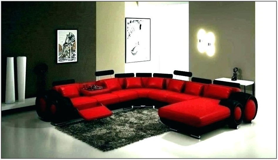 Red Living Room Couches