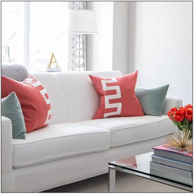Red Living Room Pillows