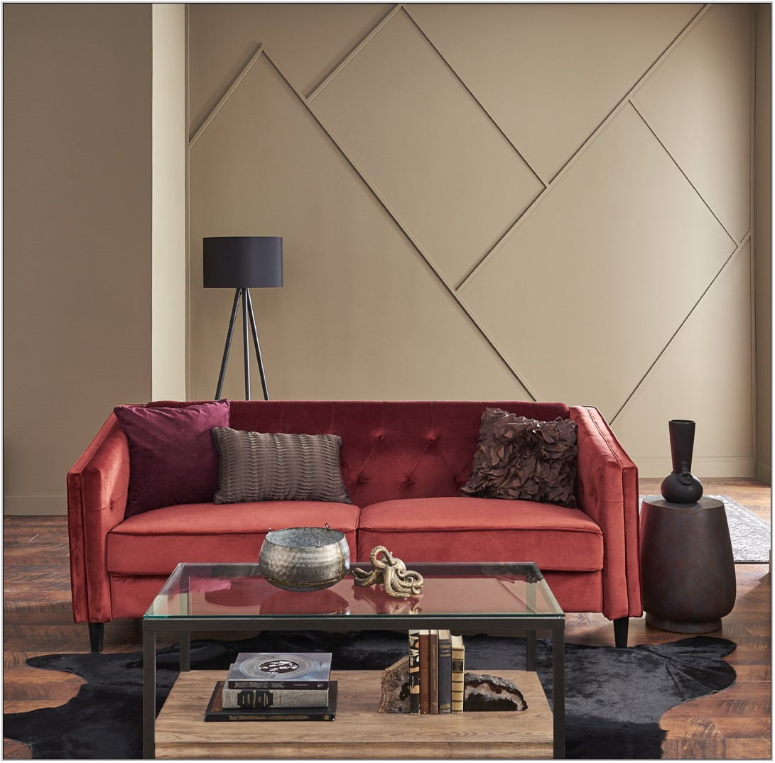 Red Paint Living Room
