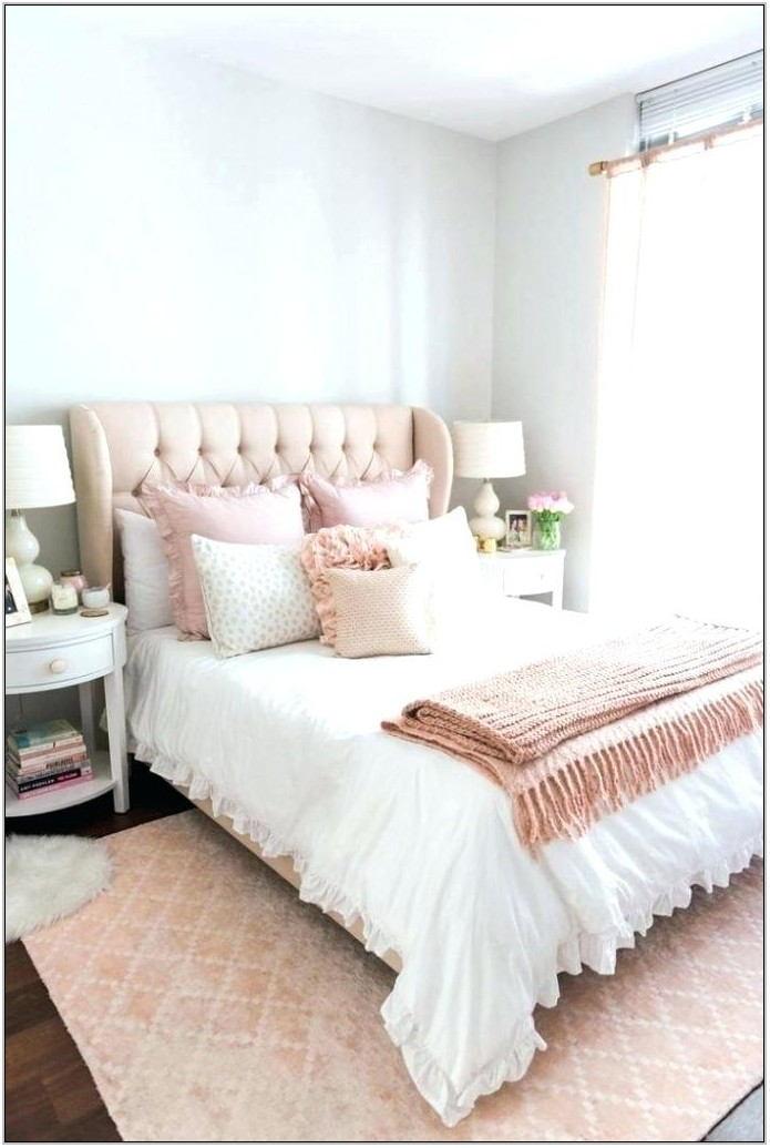 Rose Gold Living Room Rug