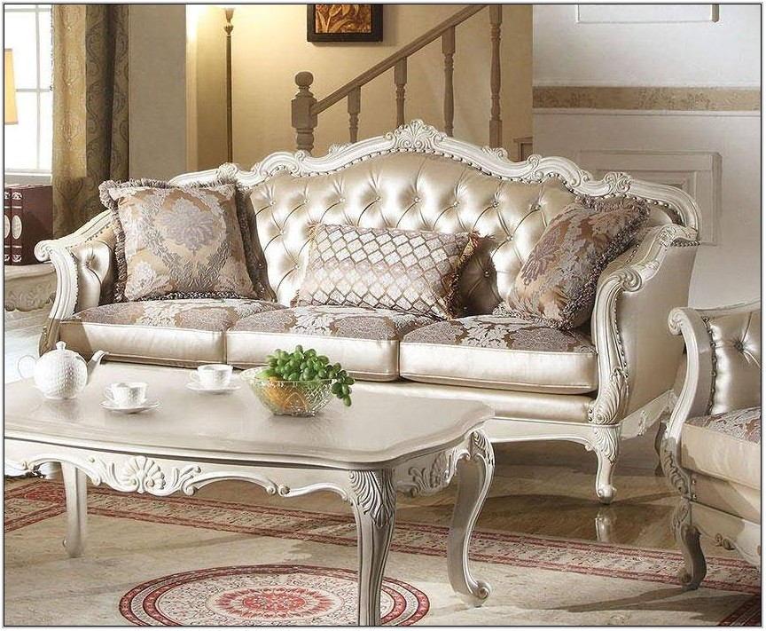 Rose Gold Living Room Set