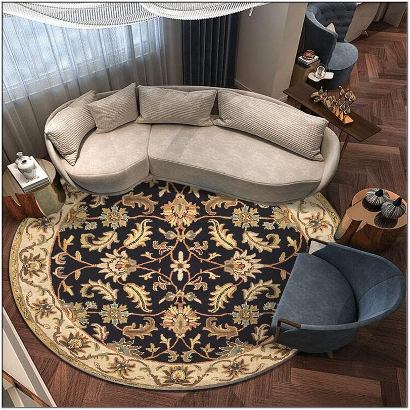 Round Carpets For Living Room