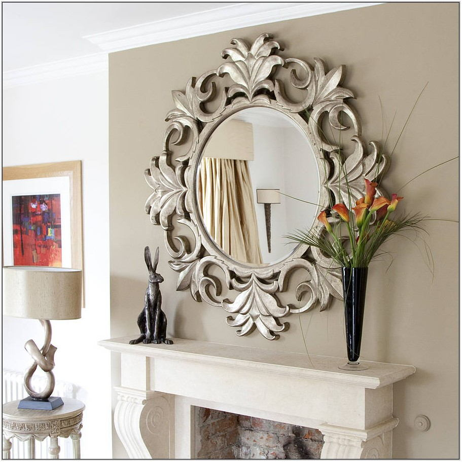 Round Decorative Mirrors For Living Room