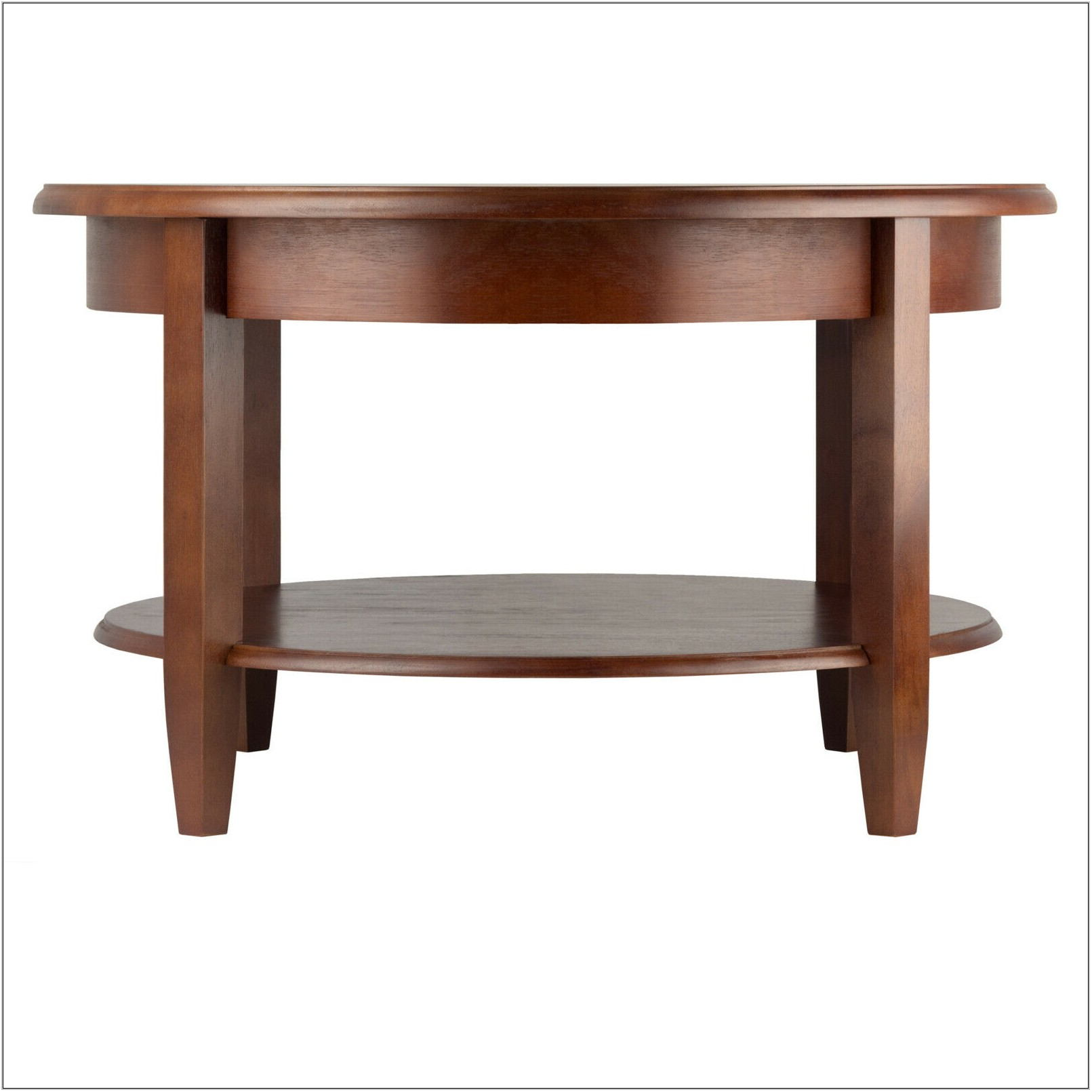 Round Living Room Table With Storage
