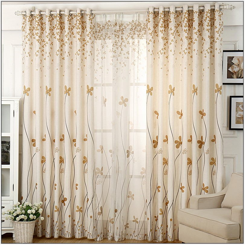 Rustic Curtains Living Room