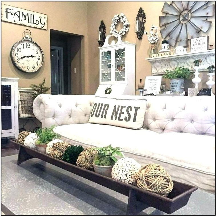 Rustic Farmhouse Living Room Furniture