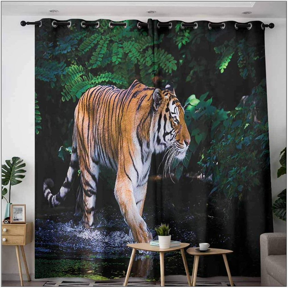Safari Curtains For Living Room