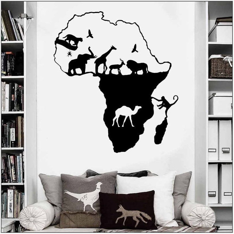 Safari Wall Decor For Living Room