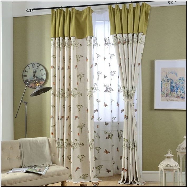 Sage Green Living Room Curtains