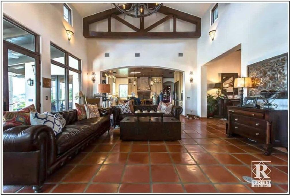 Saltillo Tile Living Room