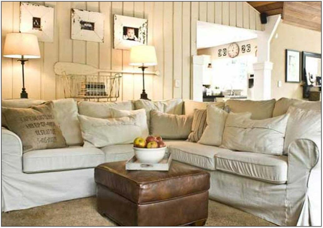 Shabby Chic Country Living Room