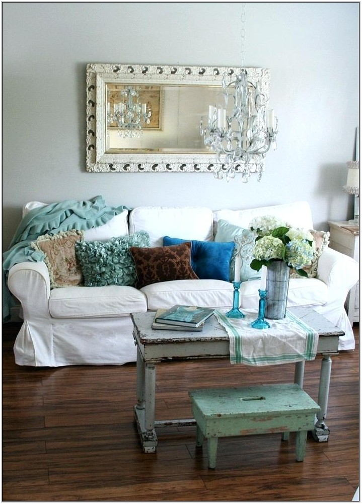 Shabby Chic Living Room Wall Decor