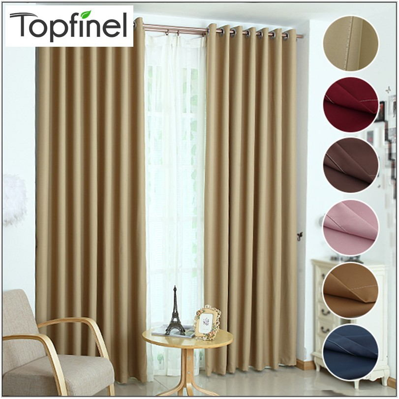 Shade Curtains For Living Room