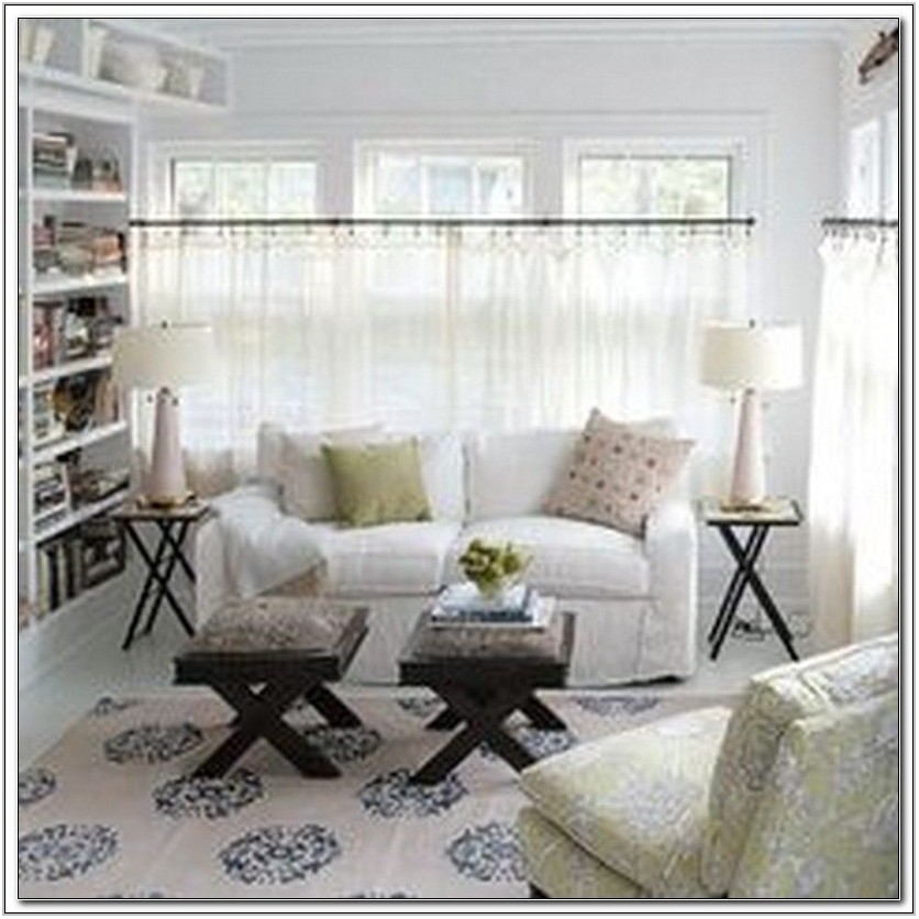 Sheer Cafe Curtains For Living Room