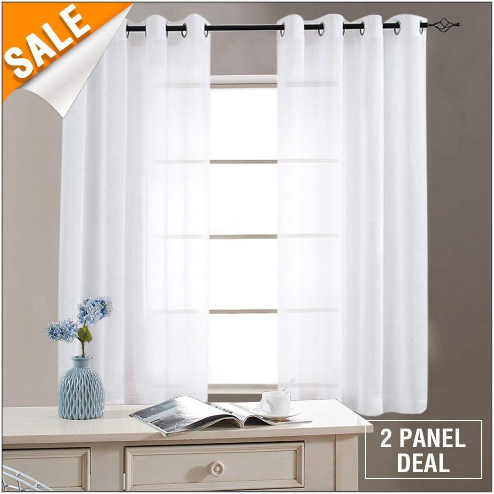 Sheer Curtains For Living Room Window