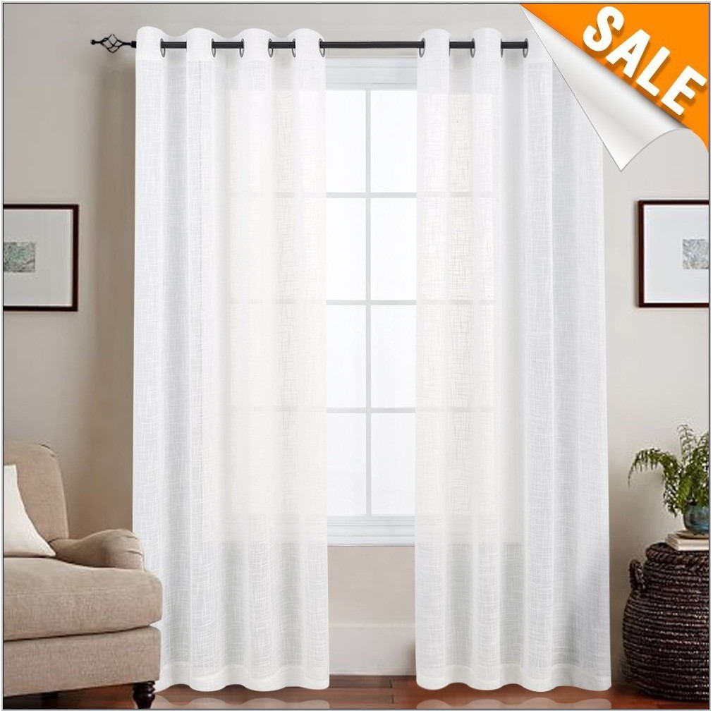 Sheer Curtains For Living Room