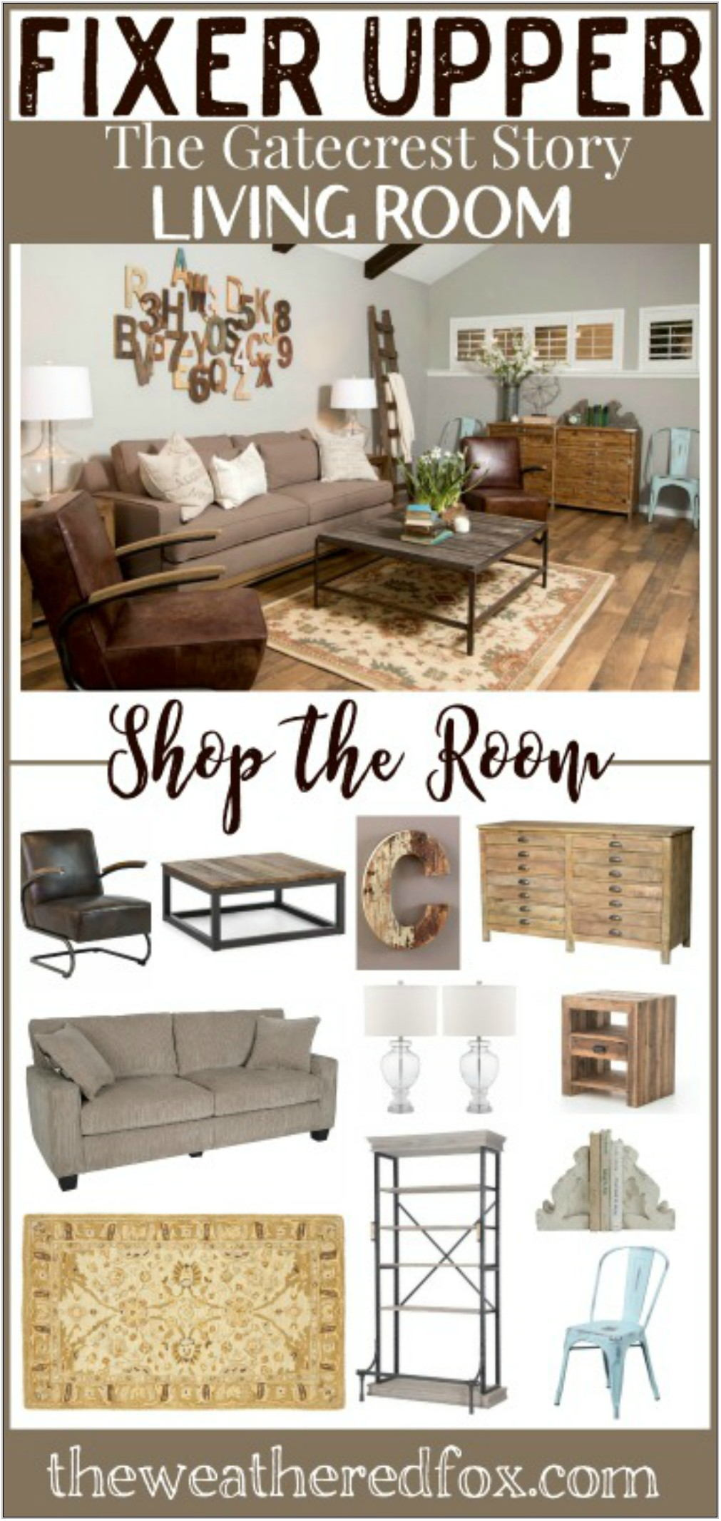 Shop The Room Living Room