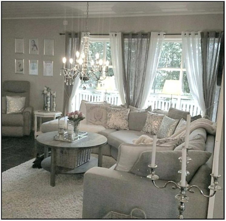 Silver Living Room Accessories