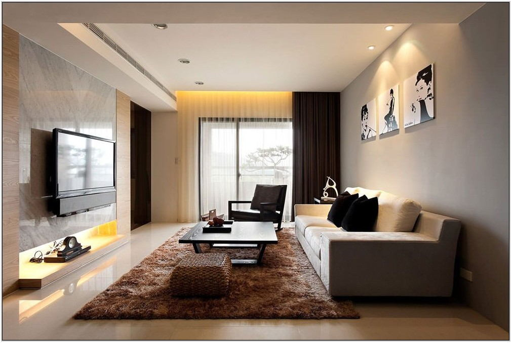 Simple Modern Living Room