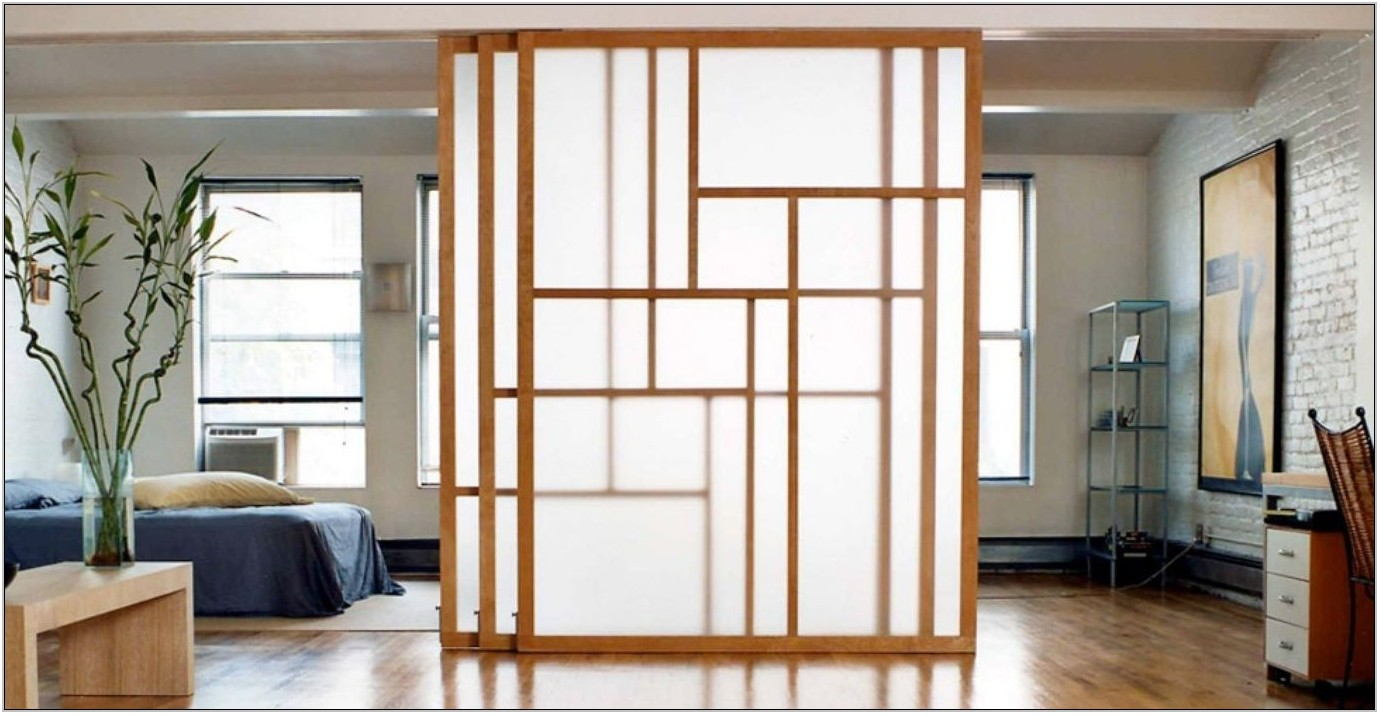 Sliding Door Living Room Divider