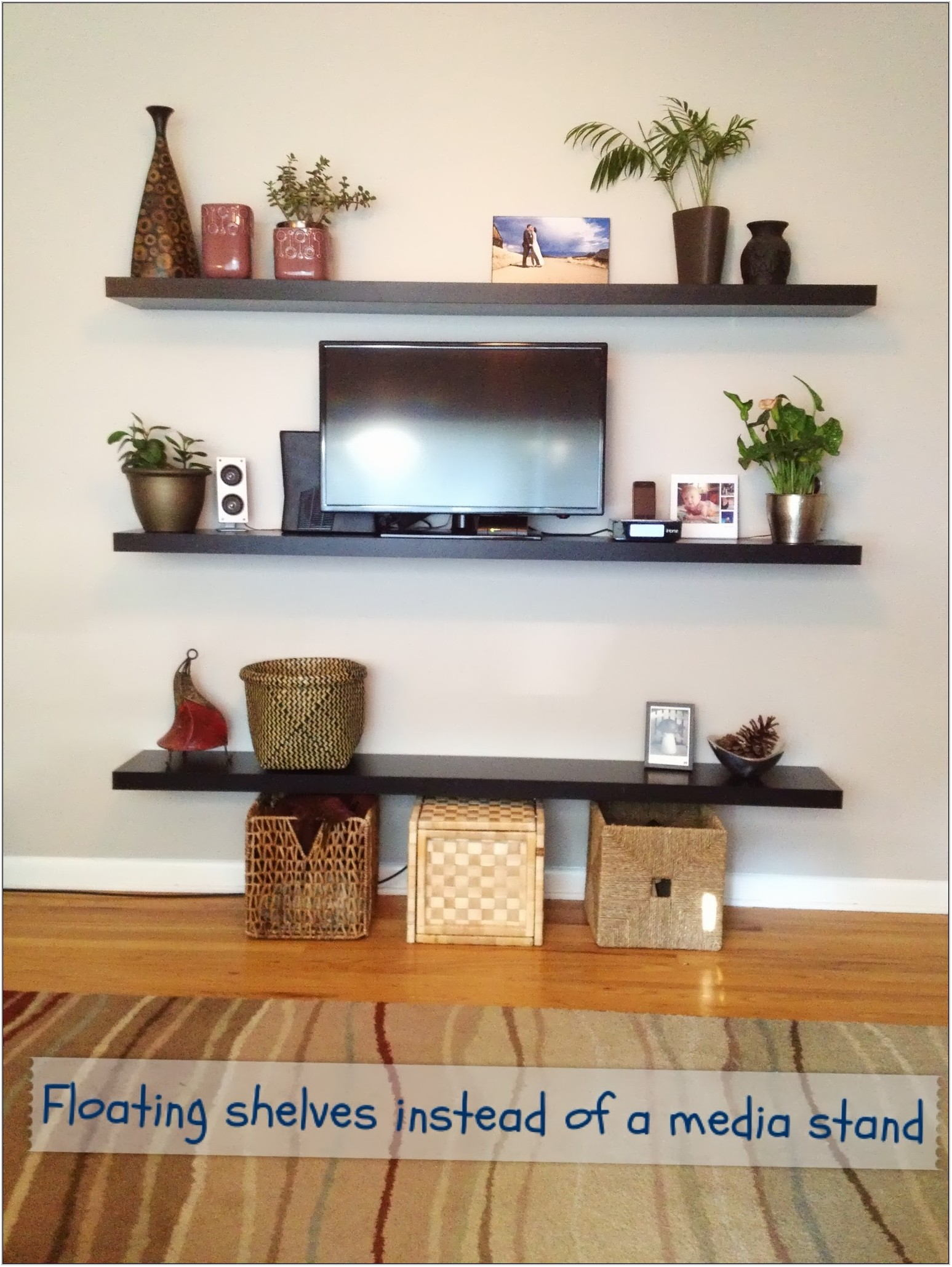 Small Wall Shelves For Living Room