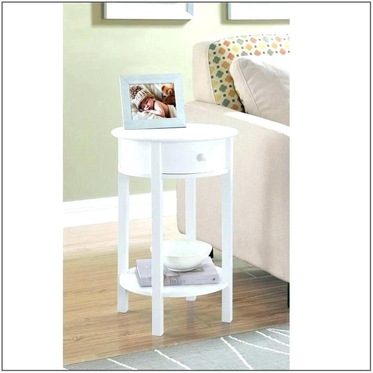 Small White Side Tables For Living Room