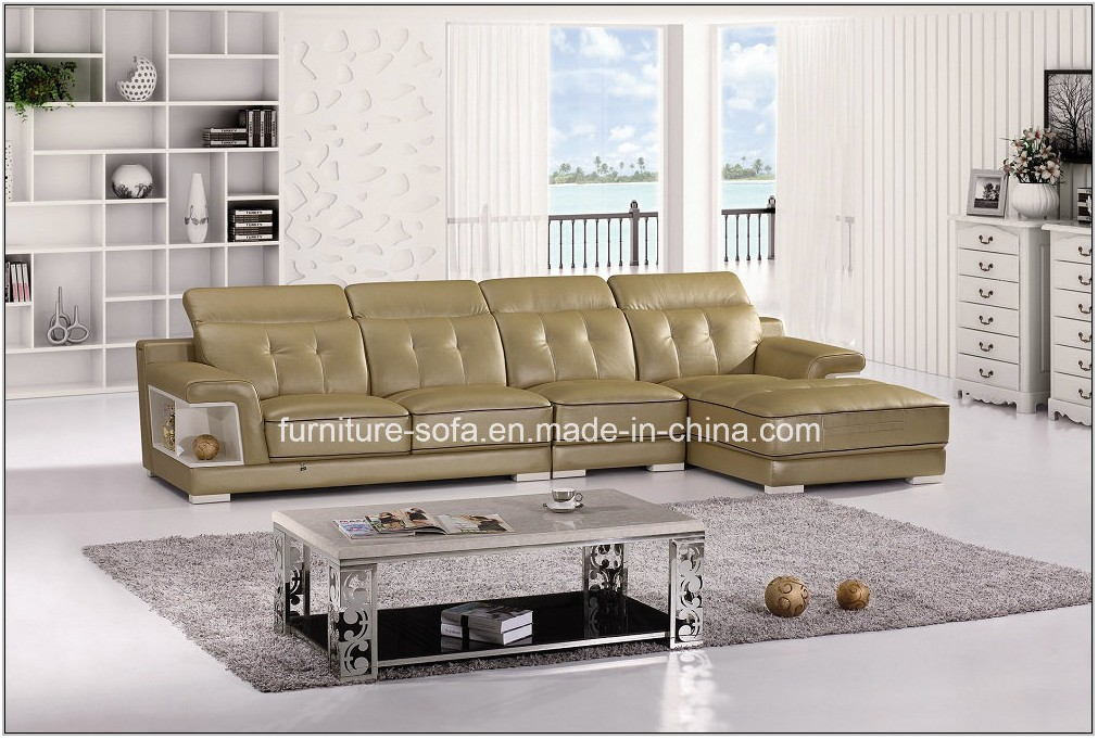 Soft Leather Living Room Furniture