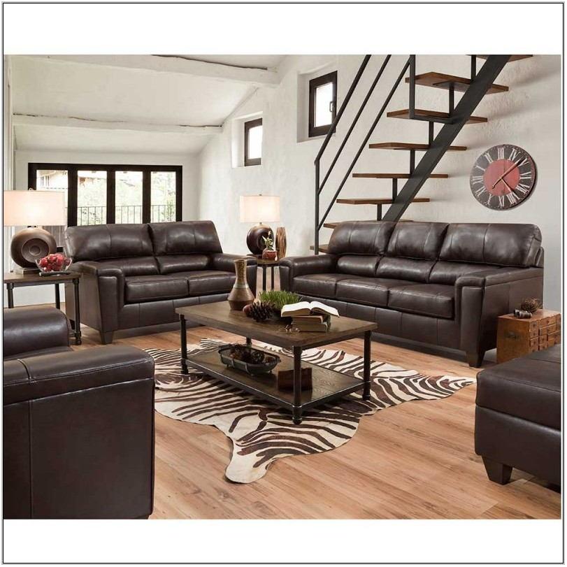 Soft Leather Living Room Set