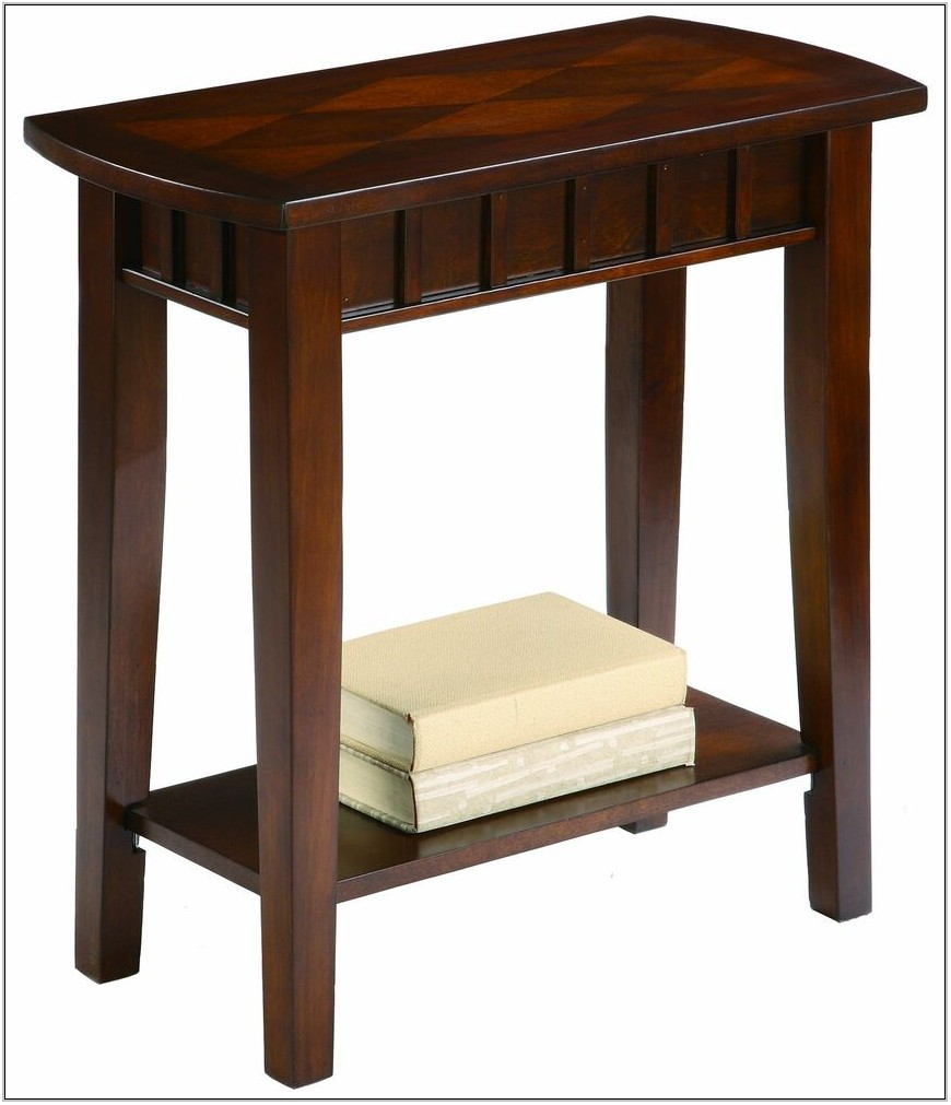 Solid Wood End Tables For Living Room