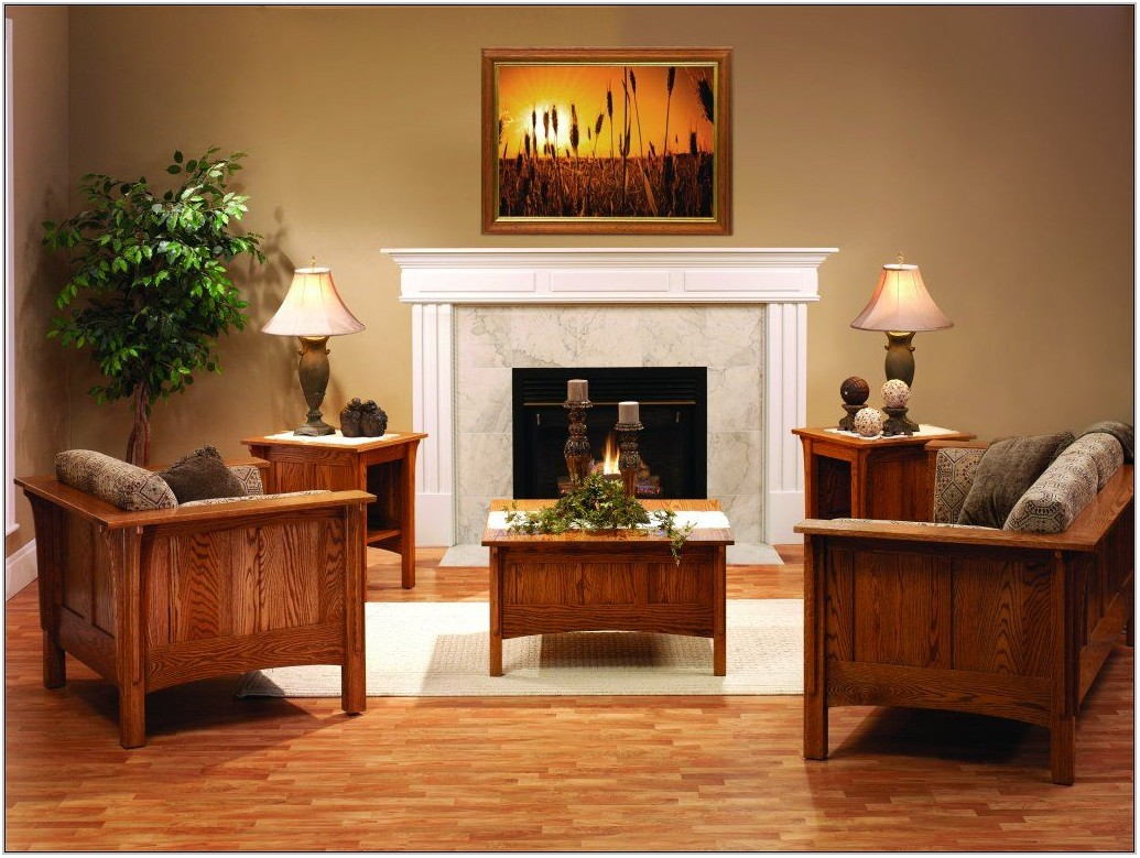 Solid Wood Living Room Furniture Sets