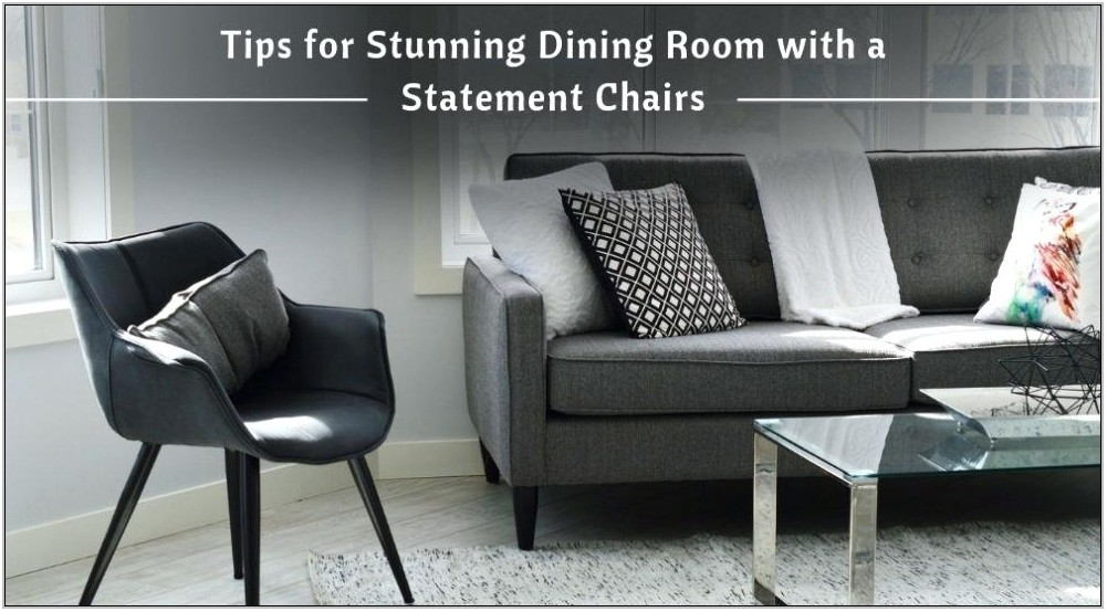 Statement Chairs For Living Room
