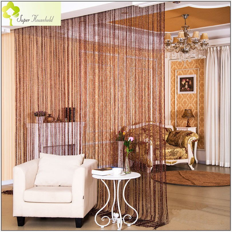 String Curtains For Living Room